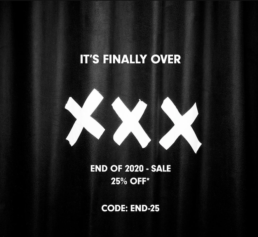 It's Finally Over Sale bei Allike