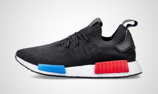 NMD_R1 PK (schwarz / rot / blau) Sneaker