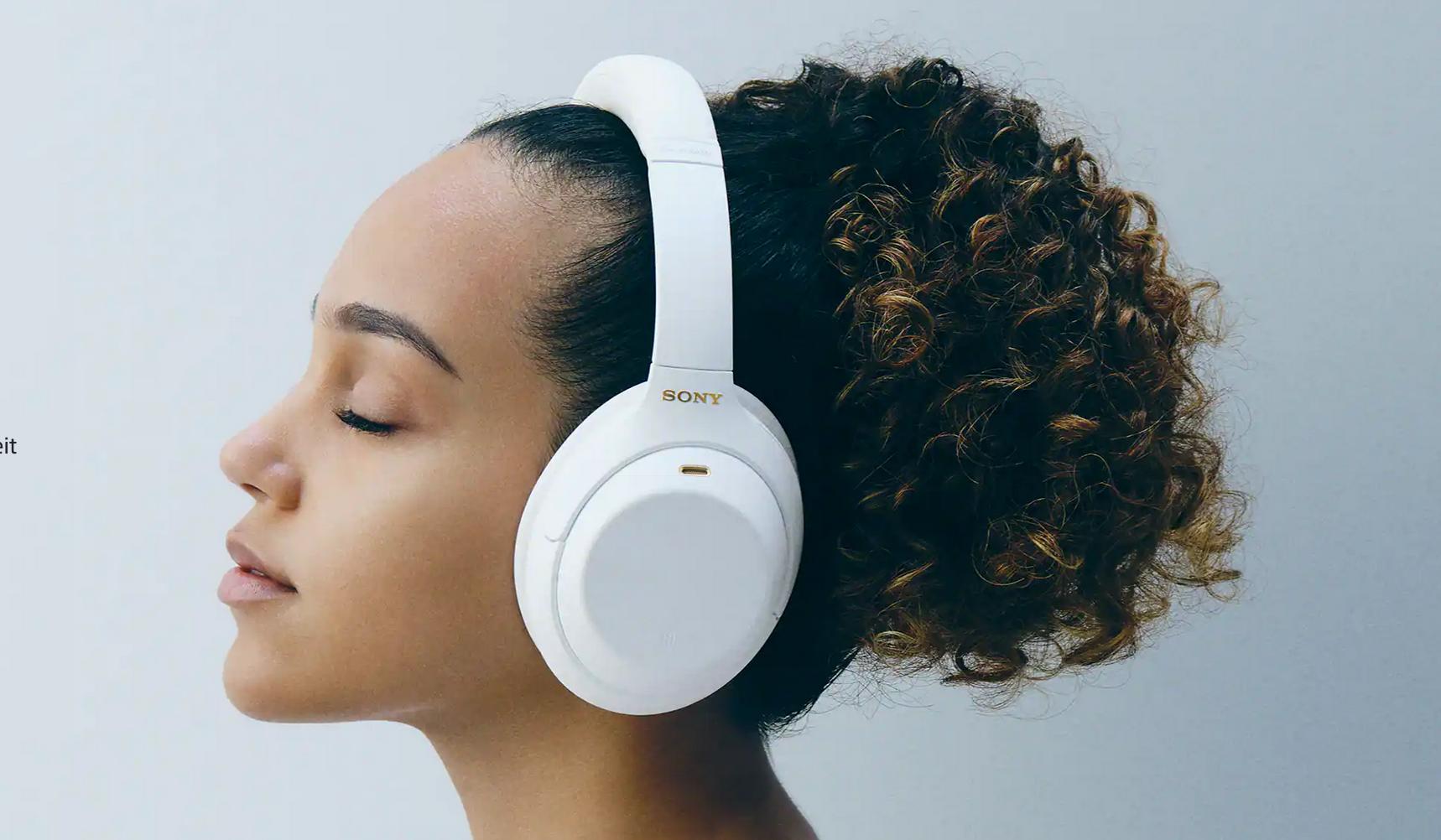 Sony kabellose Kopfhörer mit Noise Cancelling WH-1000XM4